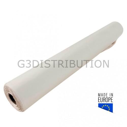 Film bâtiment blanc opaque 200µ